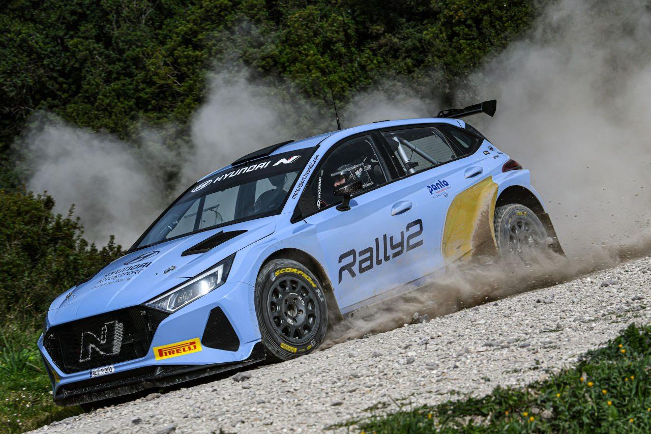 ヒュンダイi20 Nラリー2、WRC第8戦ベルギーで実戦デビューへ。ソルベルグとフッツネンがドライブ