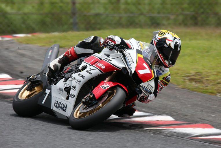 MotoGP   難しい路面コンディションでも中須賀がトップ!/全日本ロード オートポリス公開テスト1日目
