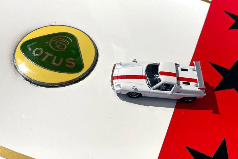 インフォメーション   『サーキットの狼』仕様のロータス・ヨーロッパSPが京商のミニカー&ブックシリーズに登場