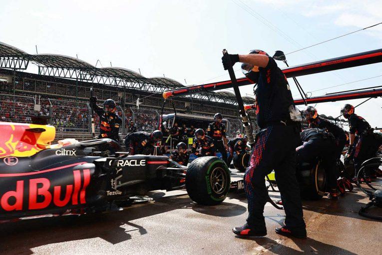 F1 | ホンダ甘口コラム F1第11戦:多重クラッシュ後もパワーユニットが無事なのは不幸中の幸い