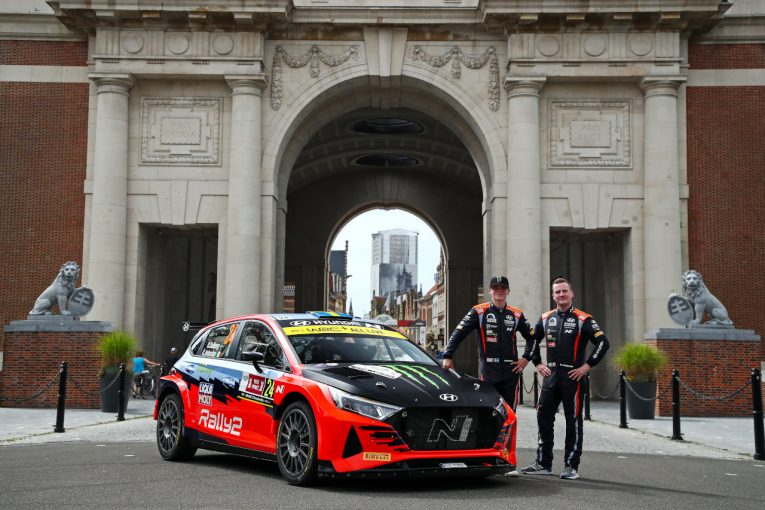 ラリー/WRC   WRCベルギーでヒュンダイi20 Nラリー2の初陣を託されたオリバー・ソルベルグ「本当に光栄なこと」