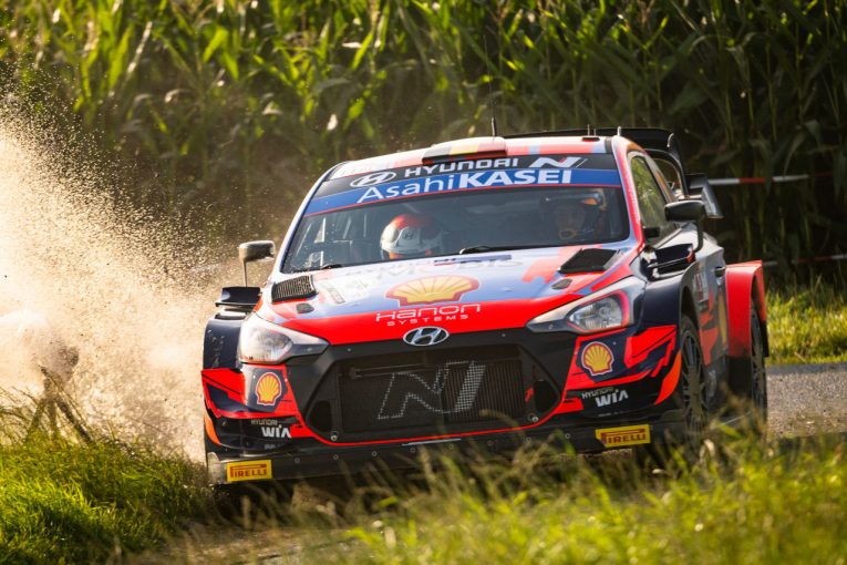 ラリー/WRC | 母国ベルギーでヌービルがシェイクダウン最速に。タナクとオジエが続く/WRC第8戦