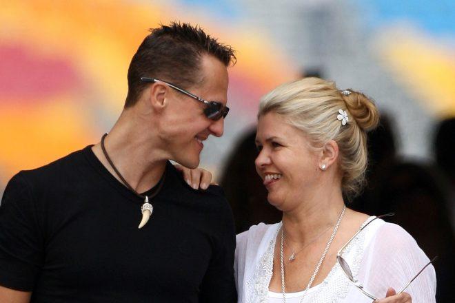 2010年F1トルコGP ミハエル・シューマッハーとコリーナ夫人