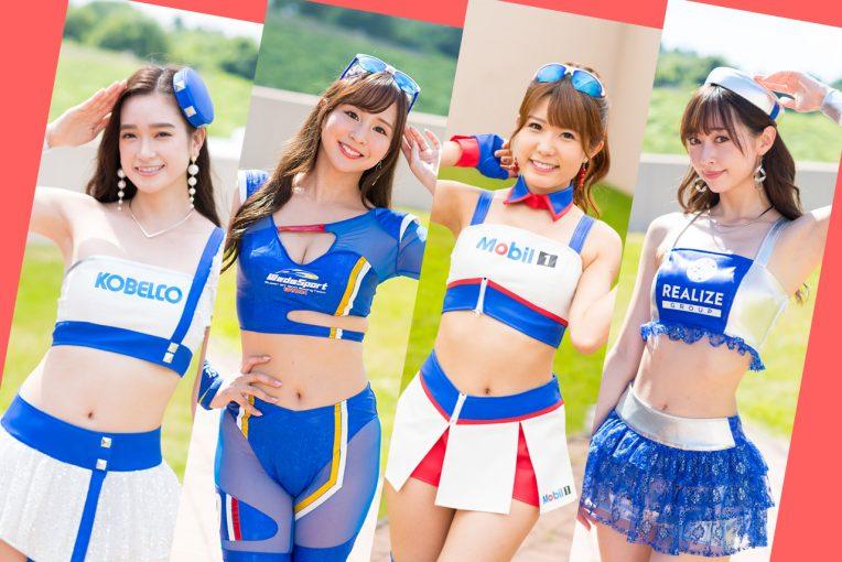 """レースクイーン   日焼け止めクリームは1大会に1本は消費! レースクイーンたちに聞く""""夏場のサーキット対策"""""""