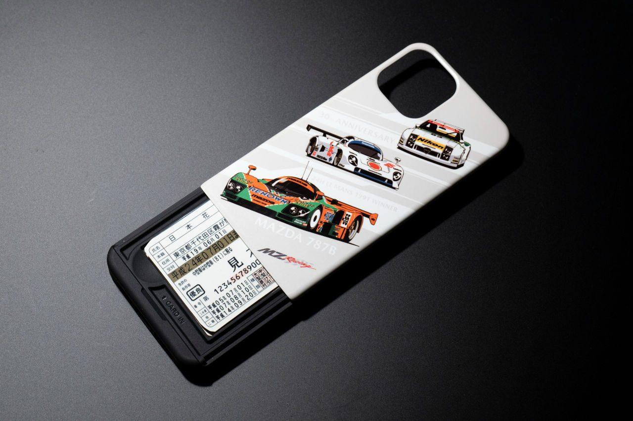 マツダ787Bル・マン優勝30周年記念グッズにiPhoneケース2種類計5デザインが追加