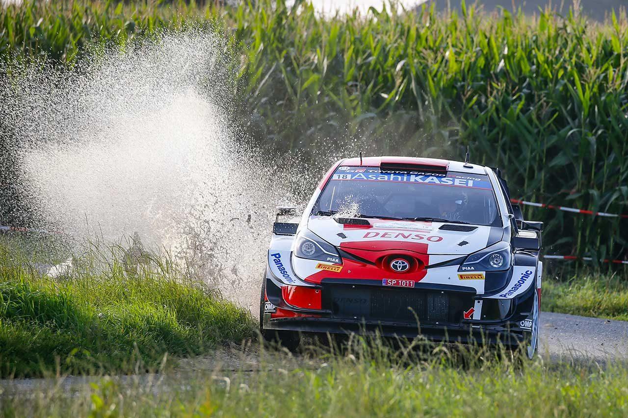 勝田貴元(トヨタ・ヤリスWRC) 2021年WRC第8戦ベルギー