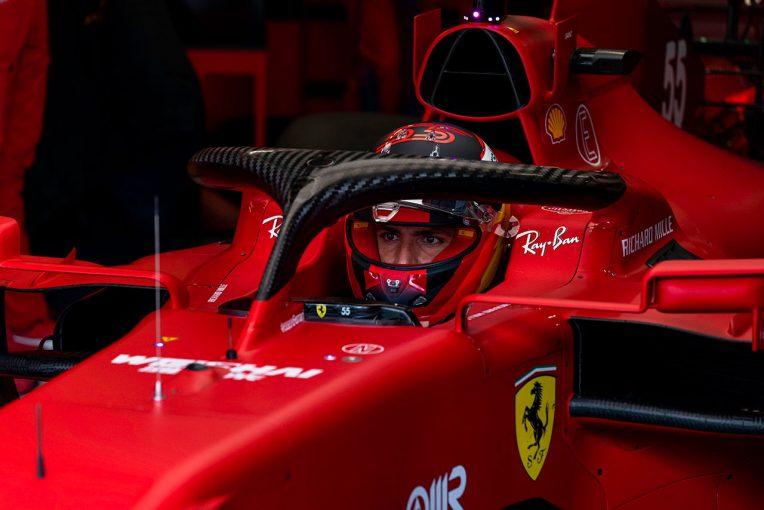 F1   フェラーリF1代表、サインツの好成績には驚かず。シーズン後半戦では「週末全体をまとめること」を期待