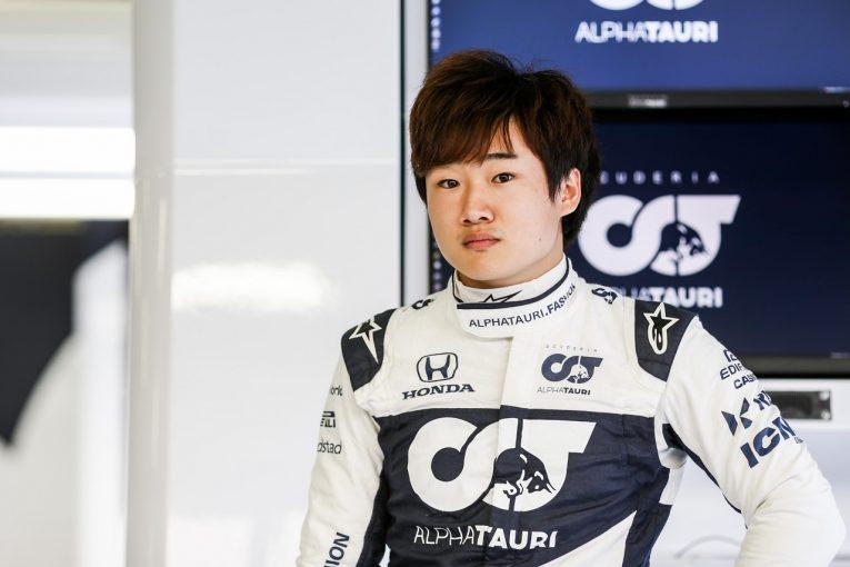 F1   角田裕毅、好結果を残してきたスパへ「F1マシンで走るのが楽しみ。準備もしっかり整えた」ベルギーGPプレビュー