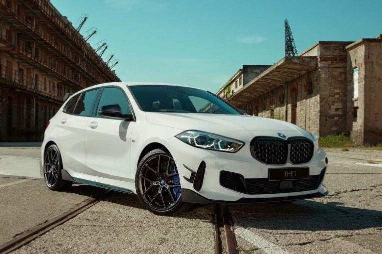 クルマ   オンラインストア限定の武闘派ルックスモデル『BMW M135i xDriveストリート・レーサー』登場