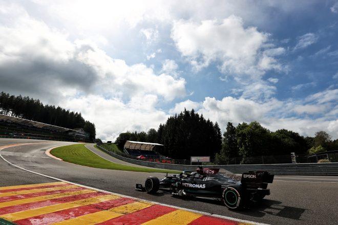 2021年F1第12戦ベルギーGP ルイス・ハミルトン(メルセデス)