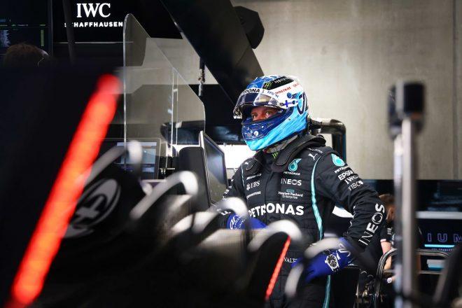 2021年F1第12戦ベルギーGP バルテリ・ボッタス(メルセデス)