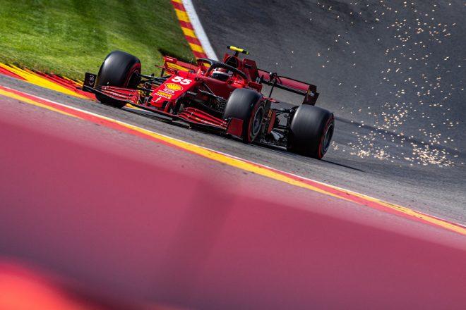 2021年F1第12戦ベルギーGP カルロス・サインツJr.(フェラーリ)