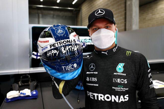 2021年F1第12戦ベルギーGP 8月28日に32歳の誕生日を迎えたバルテリ・ボッタス(メルセデス)