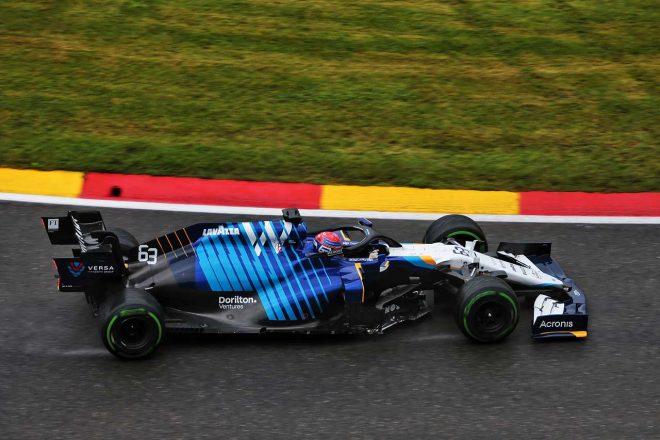 2021年F1第12戦ベルギーGP ジョージ・ラッセル(ウイリアムズ)