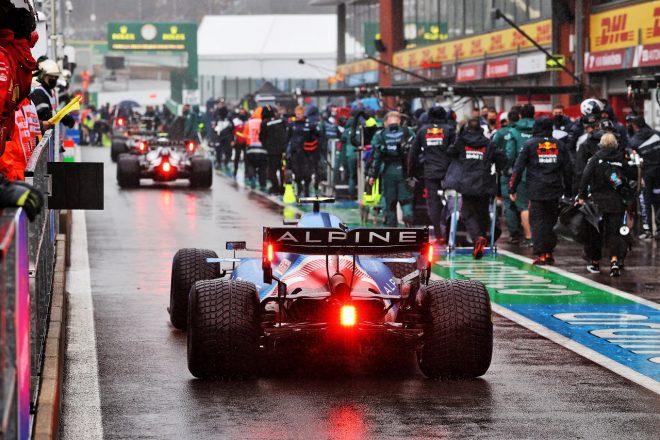 2021年F1第12戦ベルギーGP エステバン・オコン(アルピーヌ)
