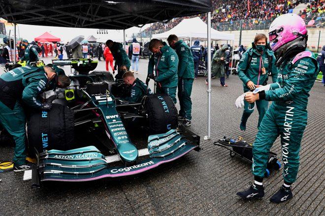 2021年F1第12戦ベルギーGP セバスチャン・ベッテル(アストンマーティン)