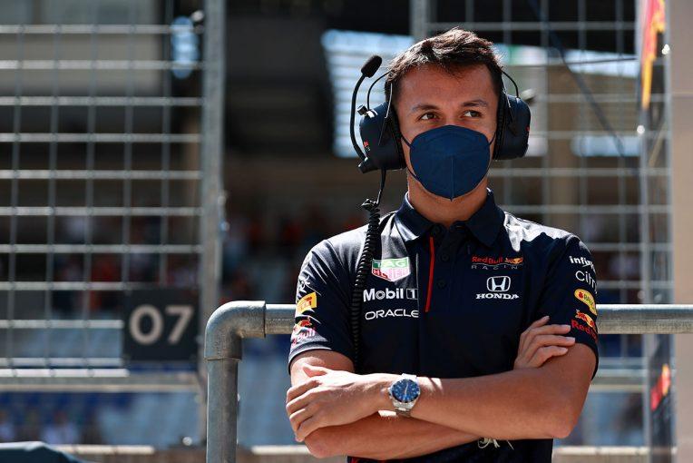 F1 | レッドブル、2022年に向けアルボンのF1での選択肢を検討。リザーブドライバー継続の可能性も