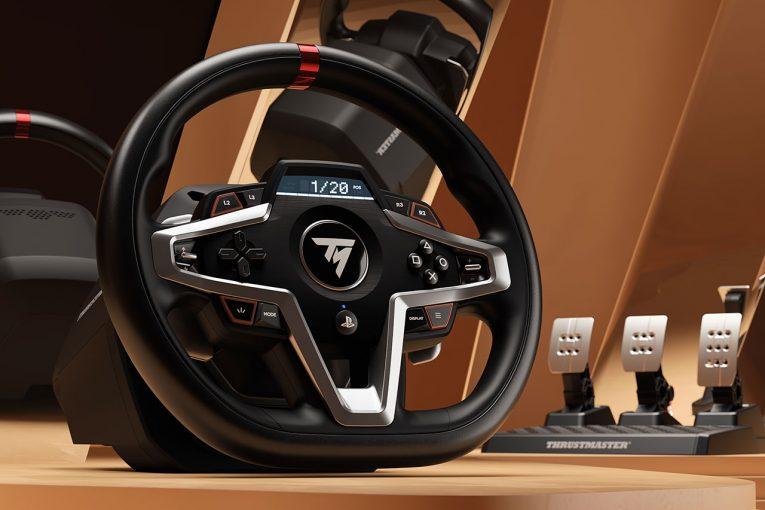 インフォメーション | スラストマスター、新レーシングホイール『T248』発表。新FFB搭載のPS4&PS5正式ライセンス製品