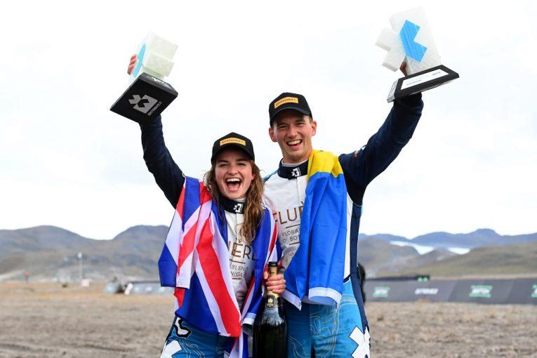 ラリー/WRC | WorldRX世界王者の兄が面目躍如、ティミー&ケイティのアンドレッティ組が初優勝/エクストリームE第3戦