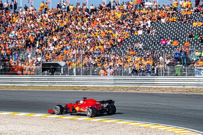 2021年F1第13戦オランダGP シャルル・ルクレール(フェラーリ)