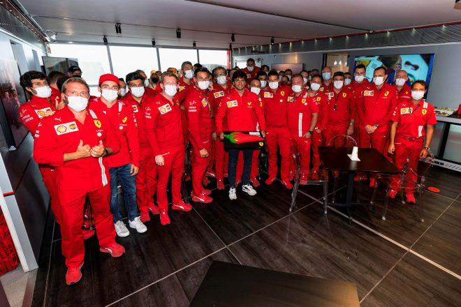2021年F1第13戦オランダGP 9月1日に27歳の誕生日を迎えたカルロス・サインツJr.(フェラーリ)