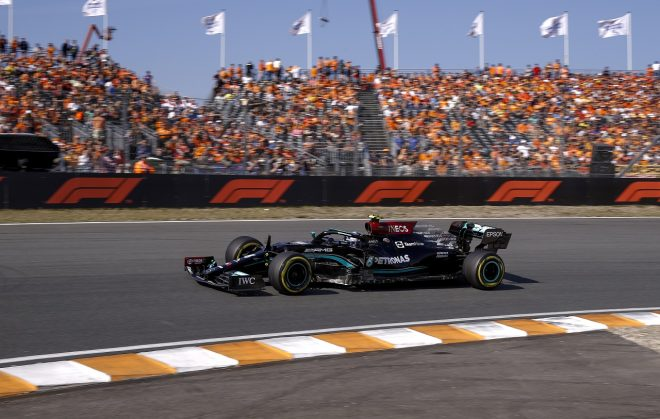 2021年F1第13戦オランダGP バルテリ・ボッタス(メルセデス)