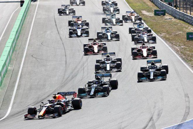 2021年F1第13線オランダGP スタートシーン
