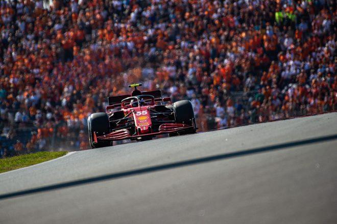 2021年F1第13戦オランダGP カルロス・サインツJr.(フェラーリ)