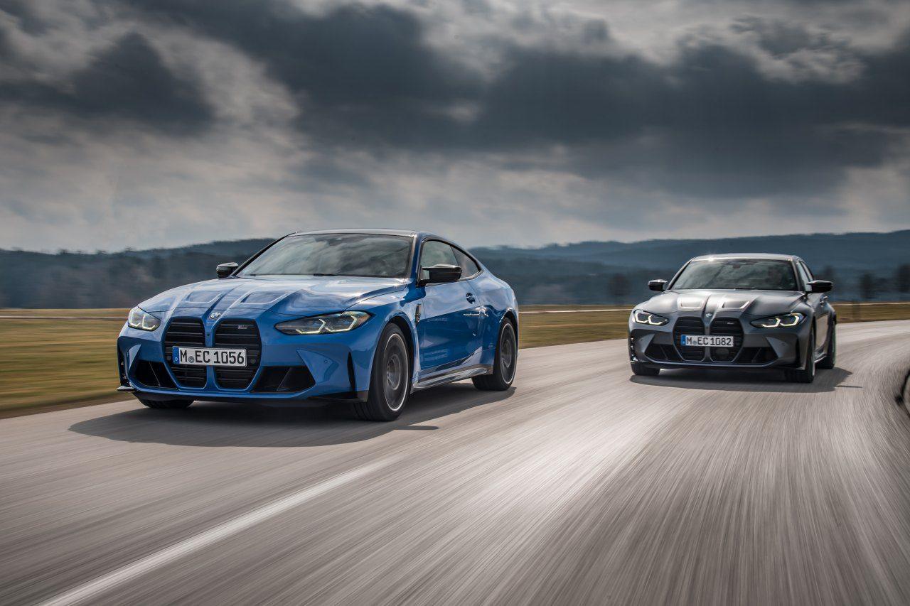 """BMW Mの主力モデル『M3セダン』『M4クーペ』に、初の4輪駆動バージョン""""M xDrive""""が登場"""