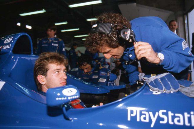 ヤルノ・トゥルーリとチームオーナー1年目のアラン・プロスト