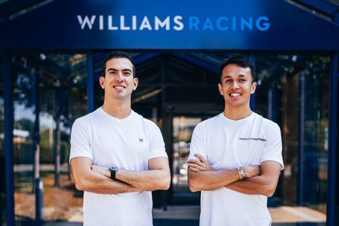 ウイリアムズF1の2022年ラインアップ、ニコラス・ラティフィとアレクサンダー・アルボン