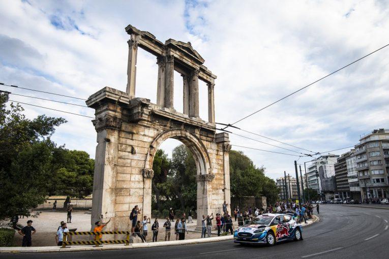 ラリー/WRC   【順位結果】2021年WRC第9戦ギリシャ SS1後