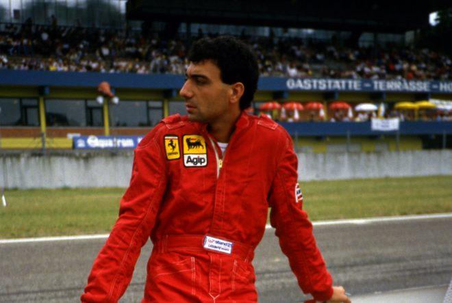 1984年F1ドイツGP ミケーレ・アルボレート(フェラーリ)