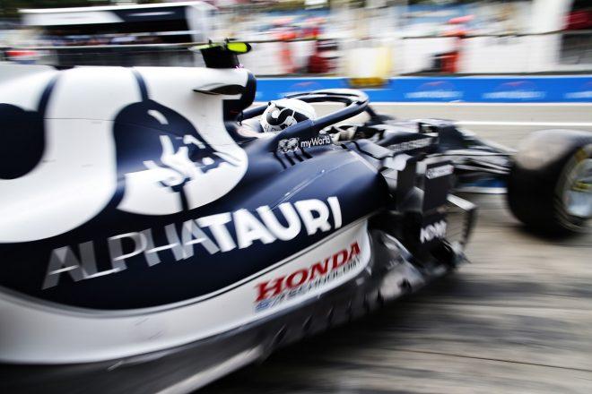 2021年F1第14戦イタリアGP ピエール・ガスリー(アルファタウリ・ホンダ)