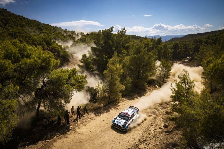 ラリー/WRC   【順位結果】2021年WRC第9戦ギリシャ SS6後