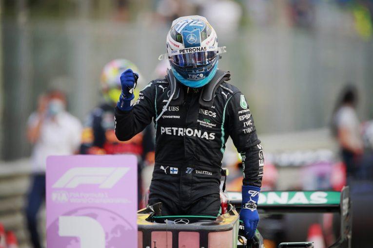 F1   予選最速のボッタス、急なPU交換で日曜にグリッド降格「今は土曜レースに集中、好結果を目指す」メルセデス/F1第14戦