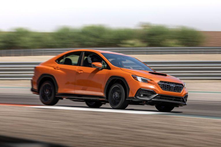 クルマ   スバル、新型『WRX』を世界初公開。2.4L水平対向エンジン採用の新世代AWDパフォーマンスカー