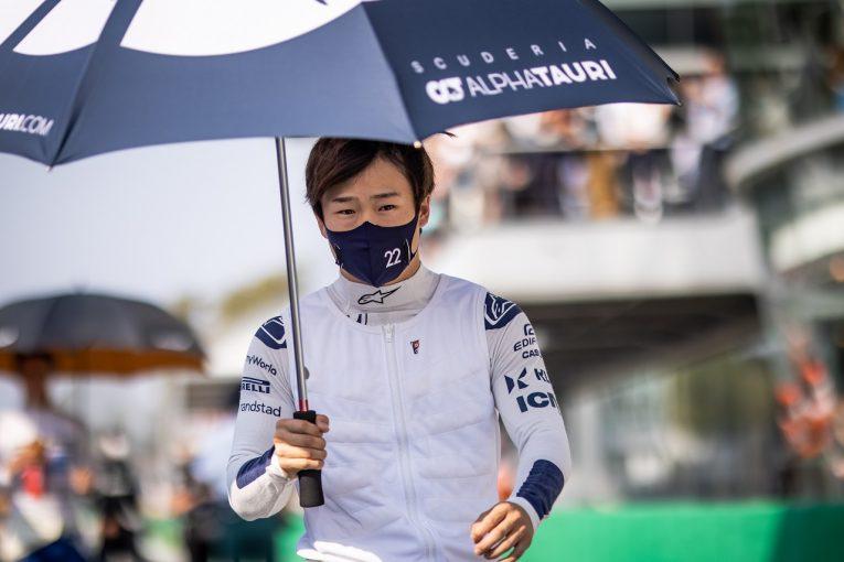 F1 | 角田裕毅、他車と接触も最後尾から挽回「良いスタートを切ったのに残念。決勝で入賞目指す」/F1第14戦スプリント予選