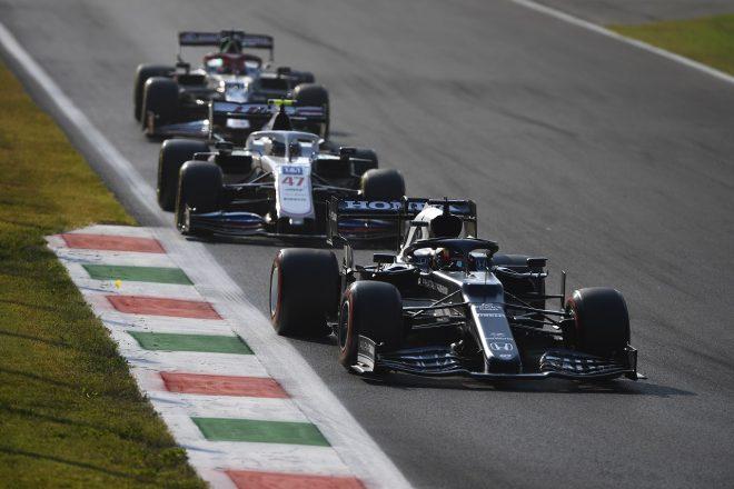 2021年F1第14戦イタリアGP 角田裕毅(アルファタウリ・ホンダ)