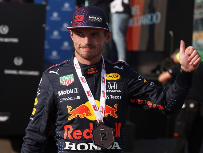2021年F1第14戦イタリアGP マックス・フェルスタッペン(レッドブル・ホンダ)がスプリント予選で2番手
