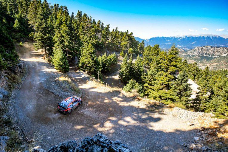 ラリー/WRC | 【順位結果】2021年WRC第9戦ギリシャ SS12後