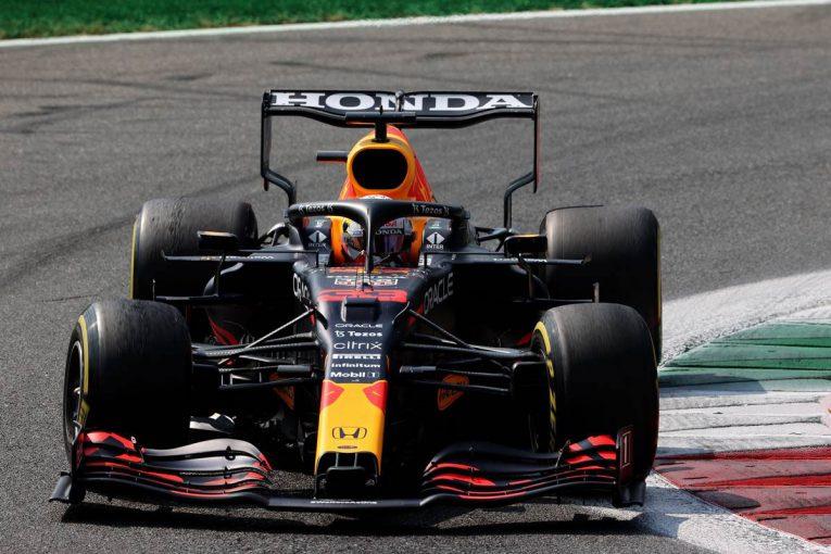 F1 | レッドブル・ホンダ密着:予選では総合力で完敗も、決勝に向け先頭を確保。対照的だったフェルスタッペンとハミルトン