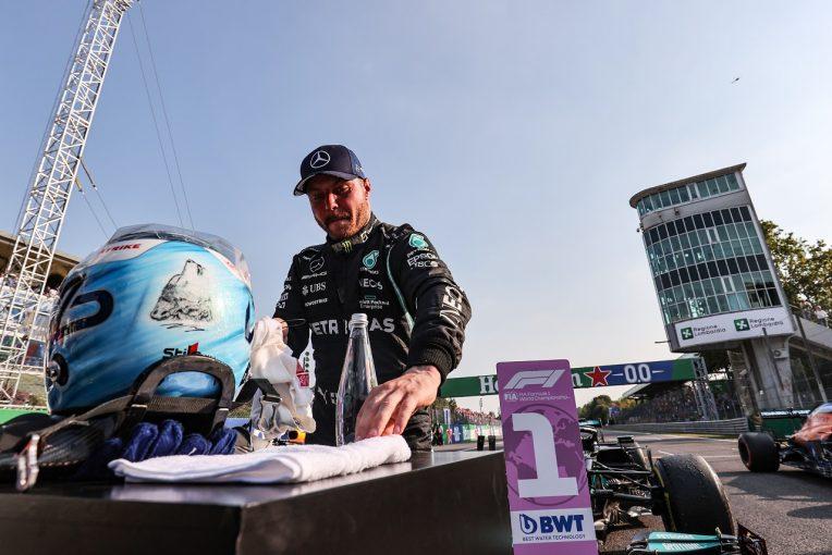F1 | スプリント予選を制したボッタス「この速さがあれば最後尾から順位を上げていける」メルセデス/F1第14戦
