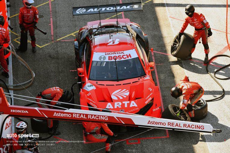 スーパーGT   前半は完璧なレース運びだったが……ARTAの3度のドライブスルーの混乱と2つのペナルティ【第5戦GT500決勝】