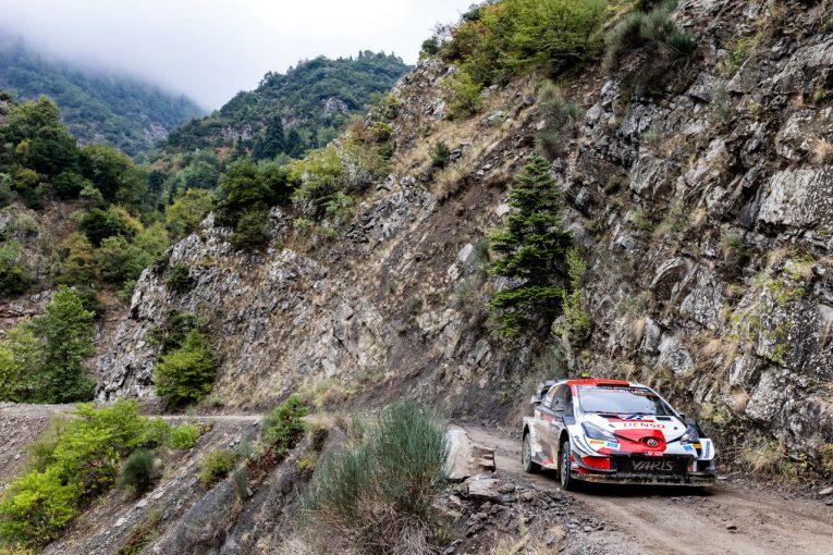 ラリー/WRC   【順位結果】2021年WRC第9戦ギリシャ SS15後