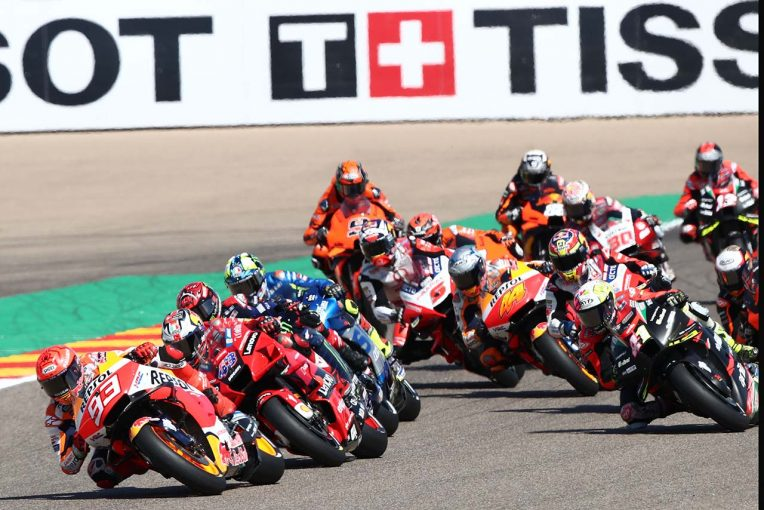 MotoGP   【ポイントランキング】2021MotoGP第13戦アラゴンGP終了時点