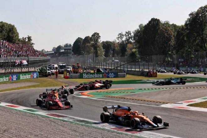 2021年F1第14戦イタリアGP 31周目にリスタート