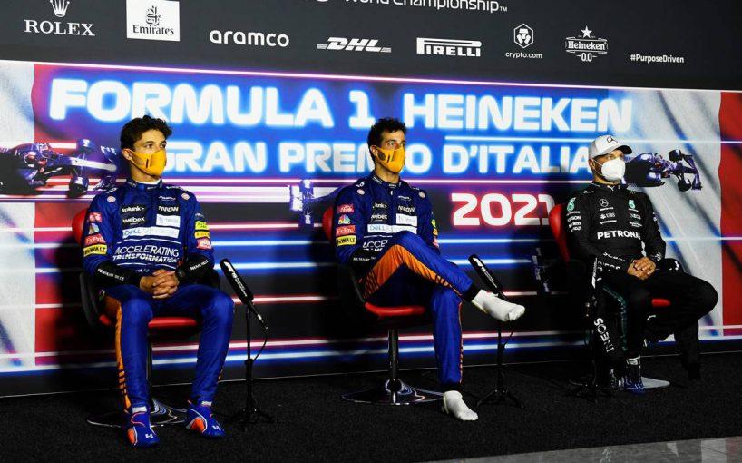 F1   【ポイントランキング】F1第14戦イタリアGP終了時点
