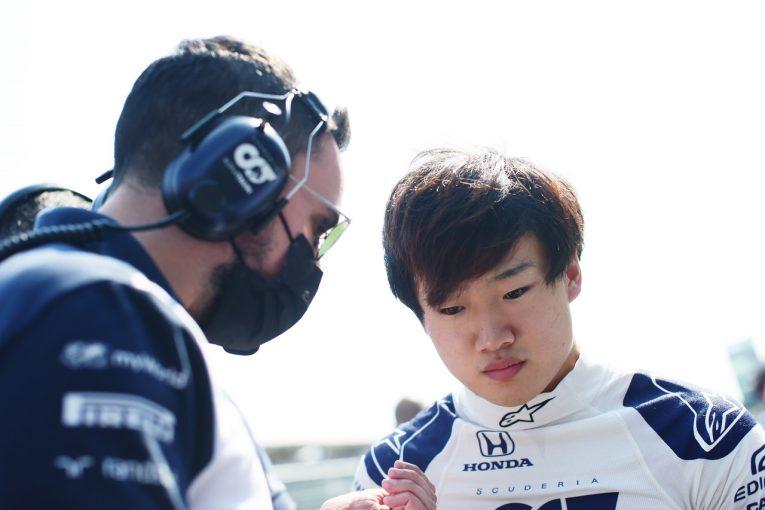 F1 | 角田裕毅、ブレーキトラブルでスタートできず「経験を積めなかったことは残念だが、次に気持ちを切り替える」F1第14戦