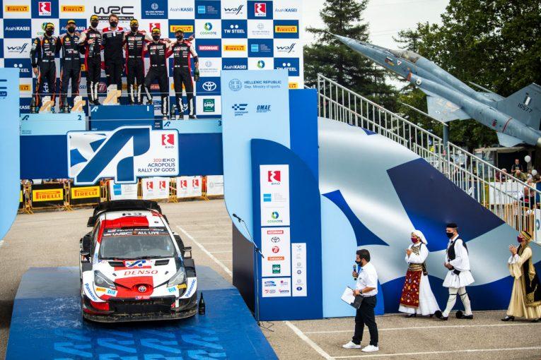 ラリー/WRC | 【ポイントランキング】2021WRC第9戦ギリシャ後